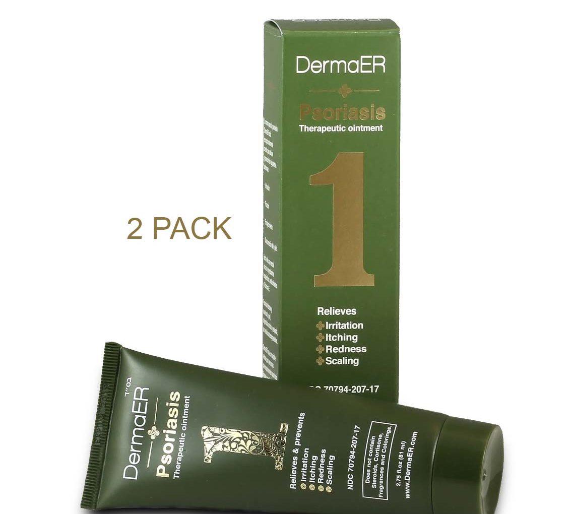 2.75 oz. Psoriasis Nontoxic Medicated Cream 2 Pack